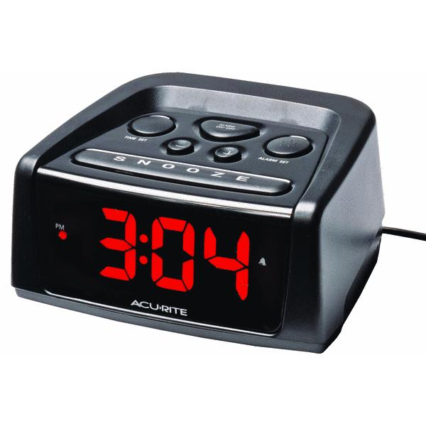 Chaney Instrument 13019A2 Electric Alarm Clock Black at ...