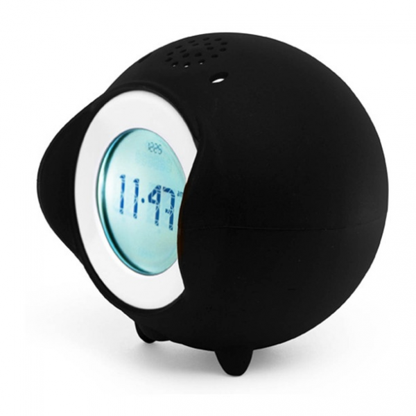 Rolling Alarm Clock - it rolls off your nightstand to force you out of ...