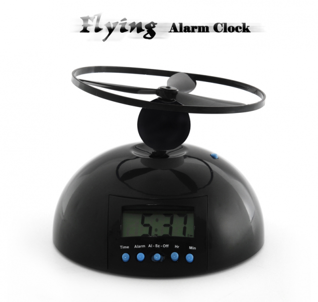 Flying Alarm Clock: Add a fun and effective twist to the usual alarm ...