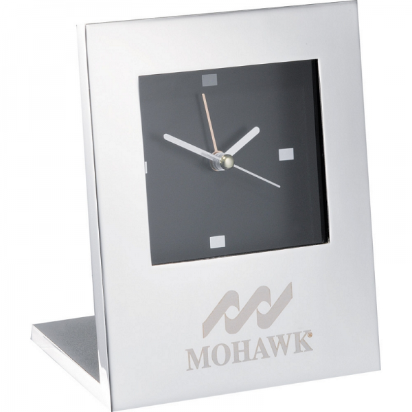 Silver Plated Alarm Clock | Customized Radiance Silver Plated Alarm ...