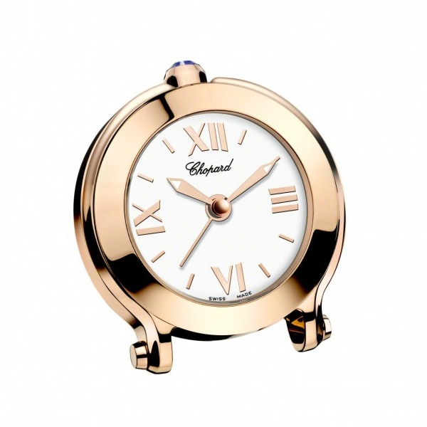Chopard Happy Sport Rose Gold Alarm Clock | King Jewelers