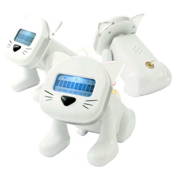 Smart Cat Alarm Clock from TreatHer.com - Great Gifts for Her ...