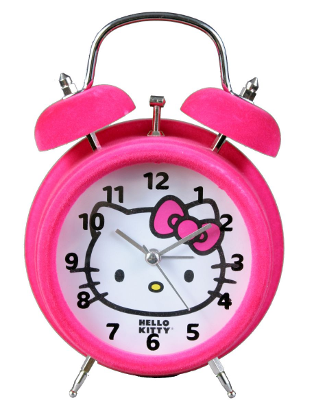 ... > Accessories > Housewares > Hello Kitty Twin Bell Pink Alarm Clock