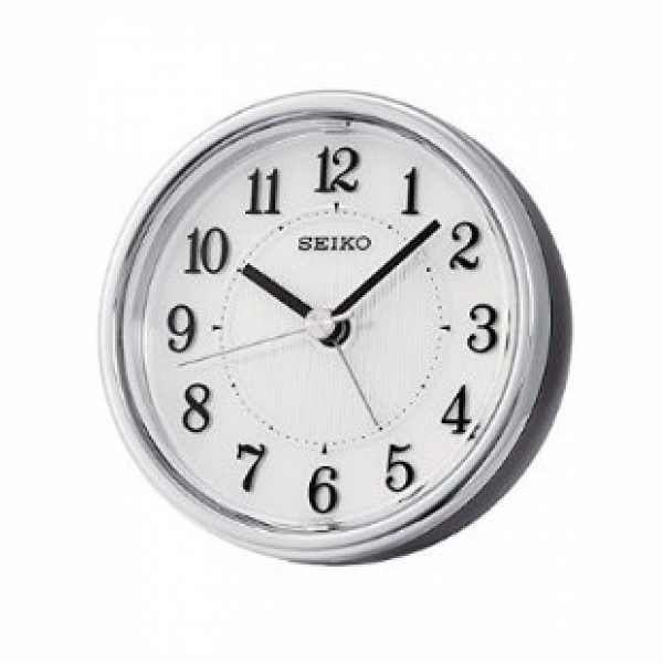 Seiko Clocks Jourdan Quiet Sweep Bedside Alarm Clock #qhe115klh