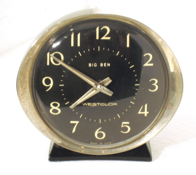 Mad Men Era Big Ben Alarm Clock