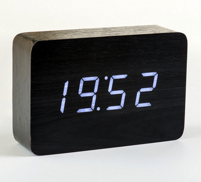 Modern Wood Alarm Clocks Cool Alarm Clocks Www Top
