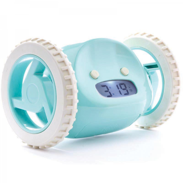 ... Clocks > Contemporary Clocks For Kids > Clocky Rolling Alarm Clock in