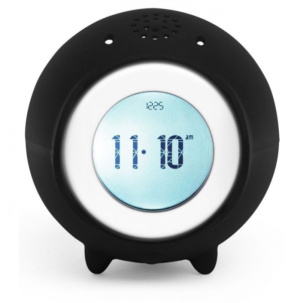 Details about Tocky Touch Roll Away Alarm Clock Recorder Plays MP3 5 ...