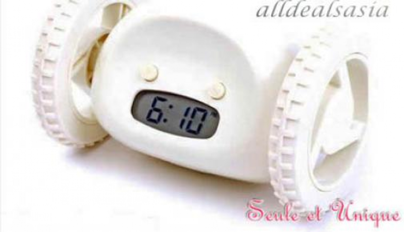 31% OFF Roll-Away Alarm Clock. Try to Catch Them Every Morning! $27 ...
