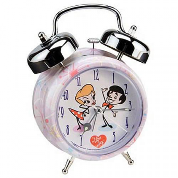 Love Lucy Cartoon Twin Bell Alarm Clock - Vandor - I Love Lucy ...