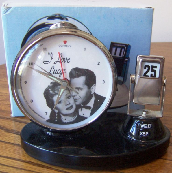 Love Lucy Alarm Clock and Calender | I♡Lucy | Pinterest