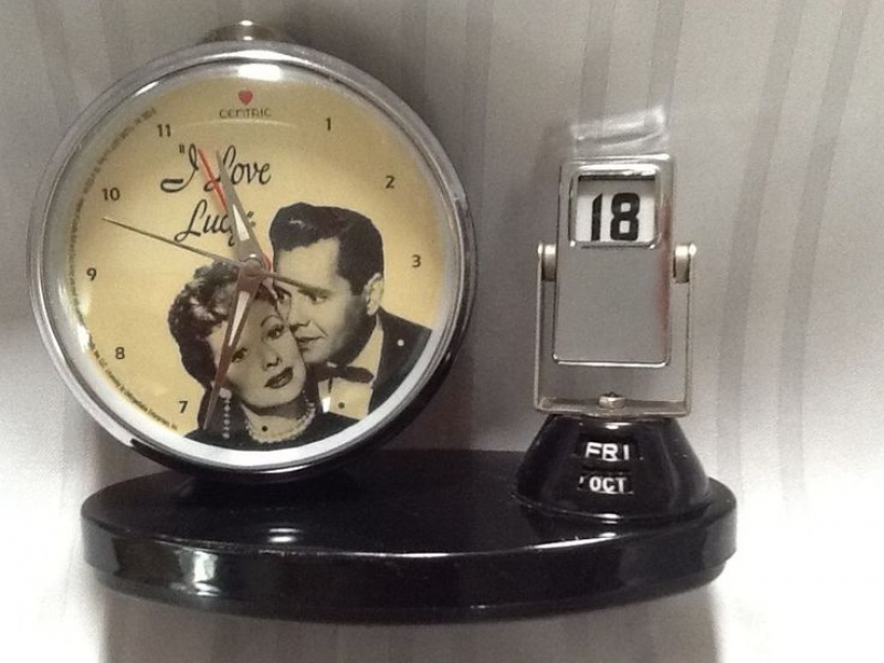 Love Lucy desk alarm clock calendar | I Love Lucy | Pinterest