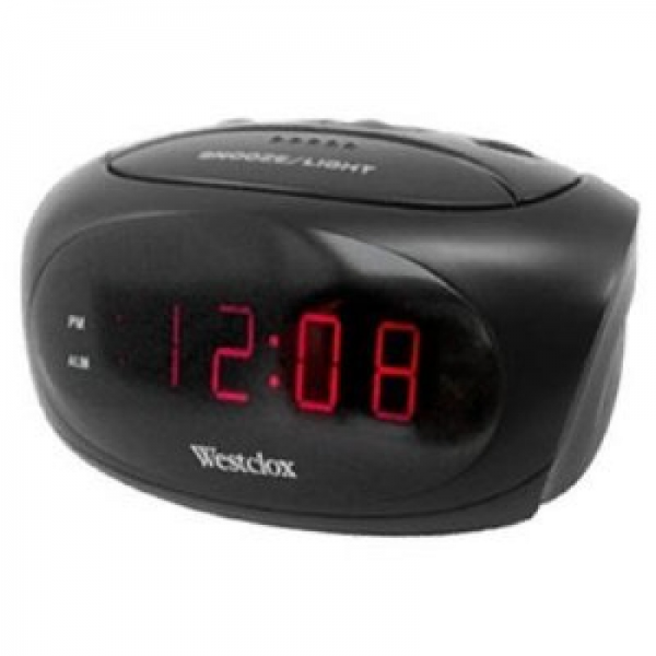 Home » Super Loud Alarm Clock with LED Display - Black
