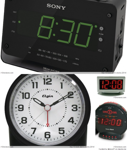 Top 10 Best Alarm Clocks 2014