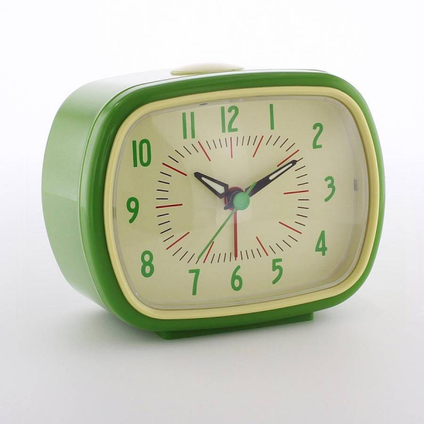 retro alarm clock by i love retro | notonthehighstreet.com