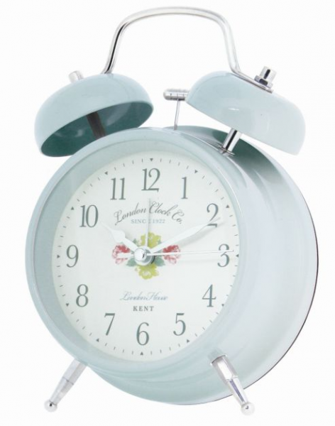 Buy London Clock Company Vintage Style Twin Bell Alarm Clock - Duck ...