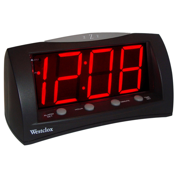 Extra Large LED Display Alarm Clock - Overstock™ Shopping - Great ...