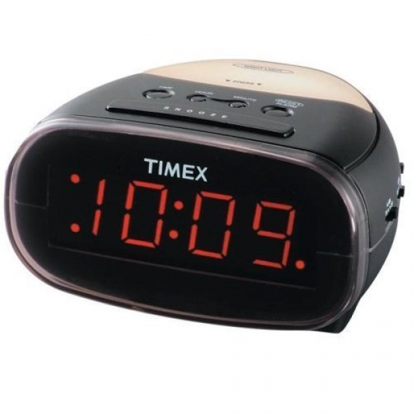 Extra Loud Large LED Display Alarm Clock with Night Light Electronics