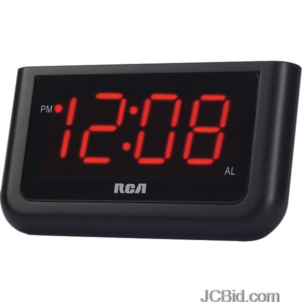 JCBid.com Rca-Rcd30-Alarm-Clock-With-14-Red-Display