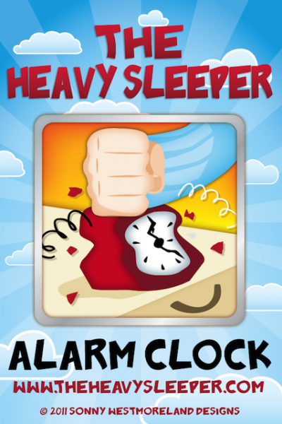 The Heavy Sleeper iPhone Alarm Clock - Never Sleep In Again!