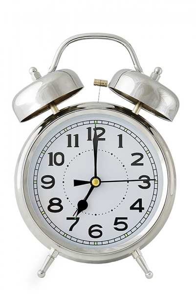 Old Fashioned Chrome Bell Alarm Clock | Download Free Stock Photos ...