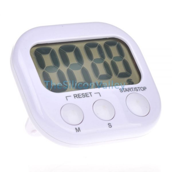 ... Timer Cooking Large Count Down Up Reset Loud Alarm Clock New | eBay