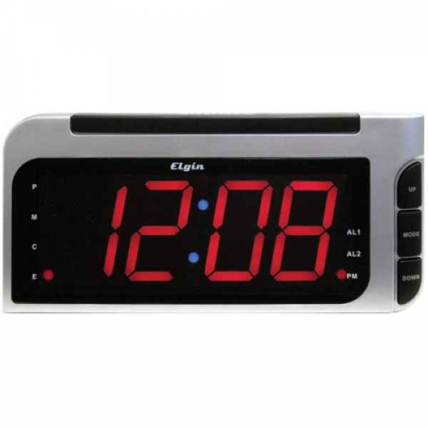 Elgin 4537E Bedside Alarm Clock with Auto-set - Y94603-im - Clocks ...