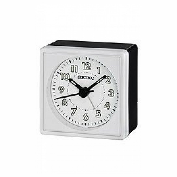 Seiko Clocks Quiet Sweep Bedside Alarm clock #QHE083WLH - Join the ...