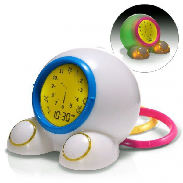 Amazon.com - American Innovative Teach Me Time! Talking Alarm Clock ...