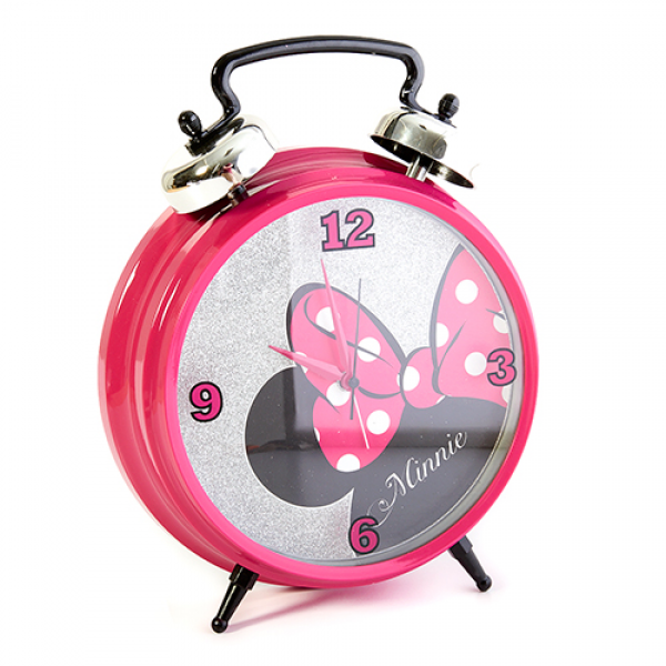 Disney Minnie Jumbo Twin Bell Alarm Clock | Boscov's