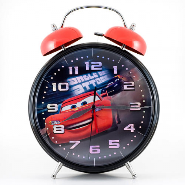 Cars 2 Jumbo Twin Bell Alarm Clock - MZB Imagination - Clocks & Clock ...