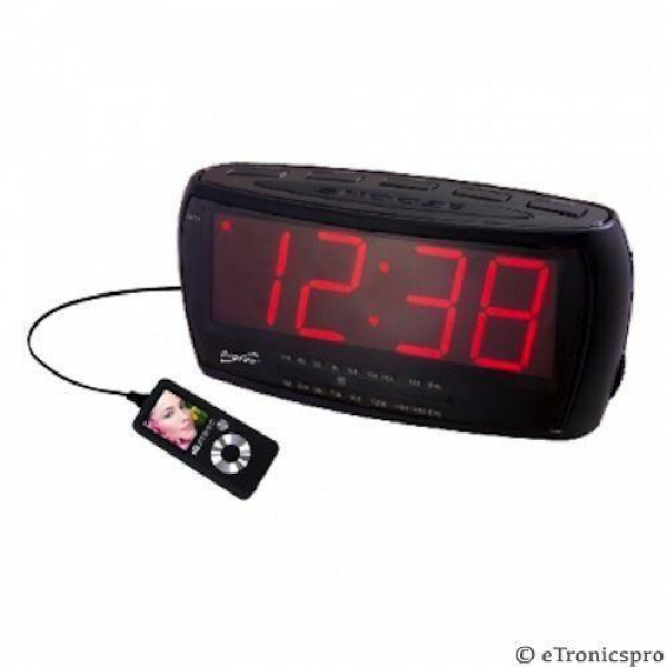 large numbers alarm clocks cool alarm clocks www top clocks com. Black Bedroom Furniture Sets. Home Design Ideas