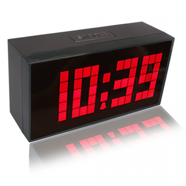 Keedox® large big number jumbo led snooze wall desk alarm clock count ...