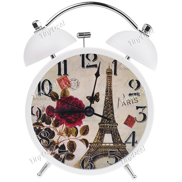 Cute Eiffel Tower Patterned Desktop Alarm Clock HLI-131064 - Wholesale ...