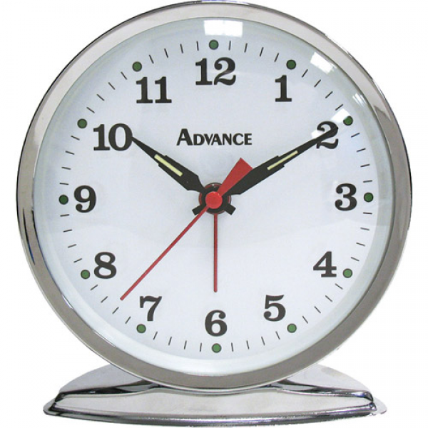 Geneva Clock Advance Time Organtick Keywind Alarm Clock - Walmart.com