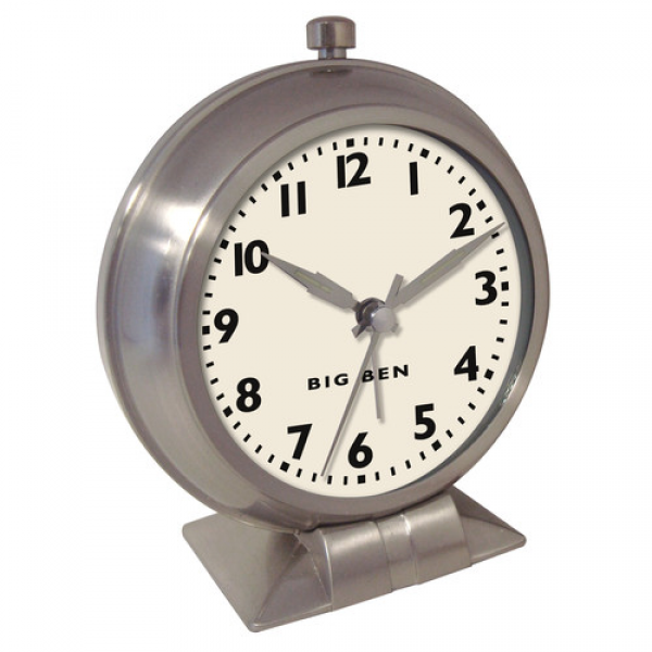 ... Instruments Antique Look Metal Alarm Clock & Reviews | Wayfair