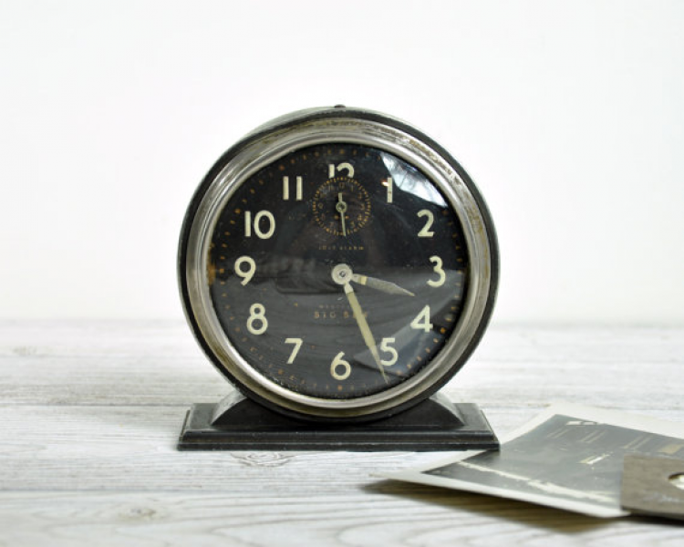 Vintage 40s Westclox Big Ben Alarm Clock by HavenVintage on Etsy