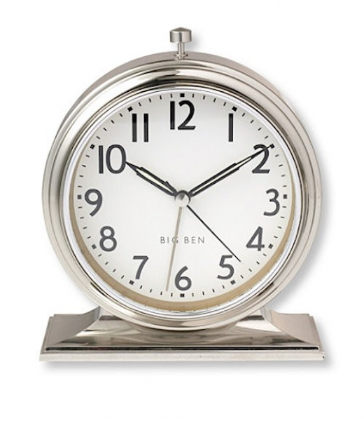 Above: An analog classic, the Big Ben Alarm Clock , originally ...