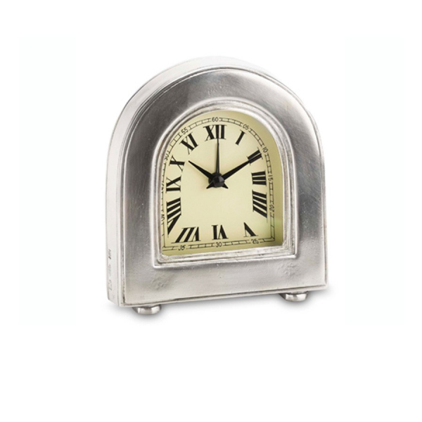 Match Pewter Alarm Clock