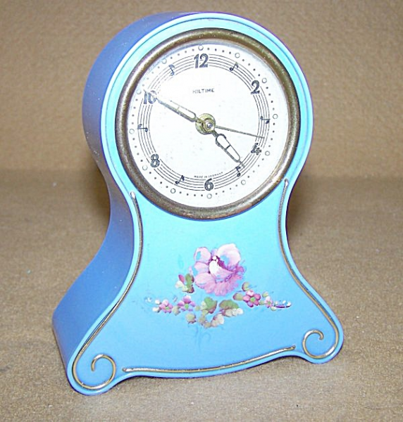 German Alarm Clock w/Music Box (Vintage Music Boxes) at Daryls Clocks ...