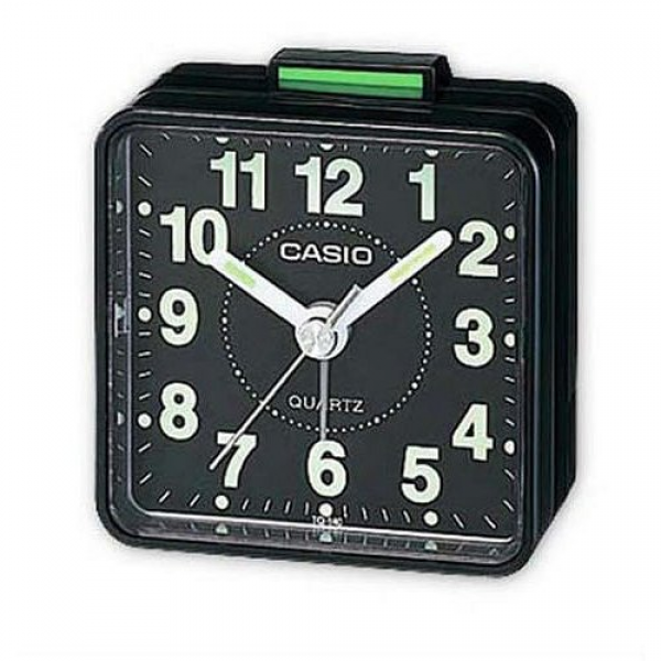 Casio TQ140 Travel Alarm Clock Black | eBay