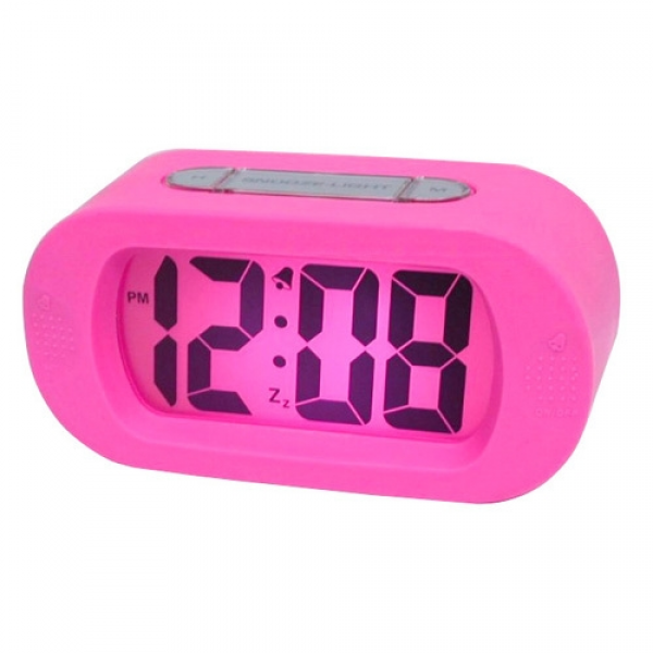 ... quality silicone big screen LCD electronic digital display alarm clock