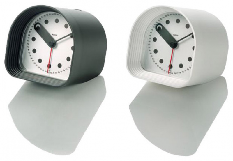 Alessi Optic Table Alarm Clock modern-clocks