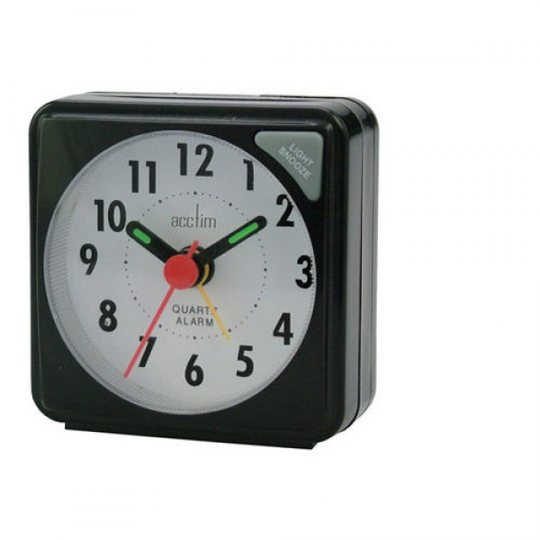 Acctim Ingot Quartz Alarm Clock Preview