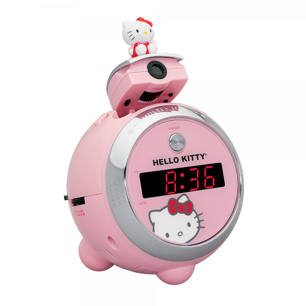 Hello Kitty Projection Clock Radio – KT2054