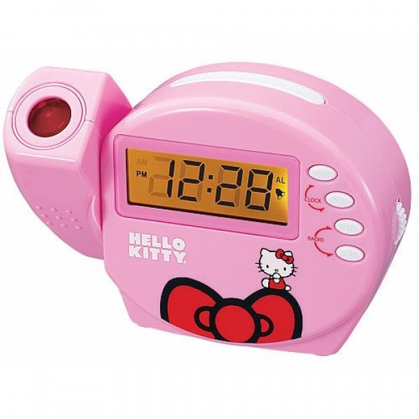 Sleeping Hello Kitty Alarm Clock | Hello Kitty Alarm Clock | Pinterest