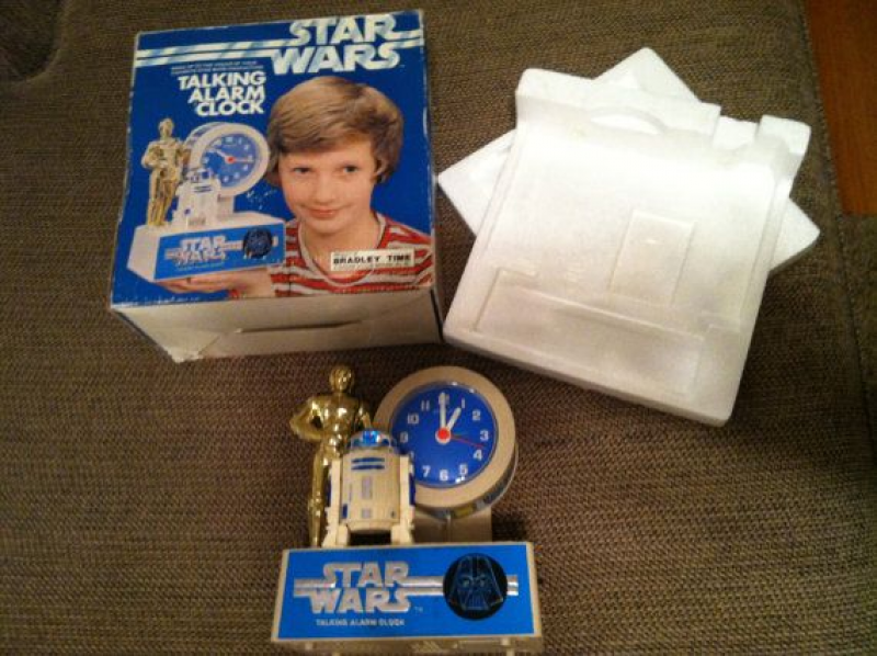 Vintage R2D2 and C3PO Talking Alarm Clock. on Etsy, $150.00