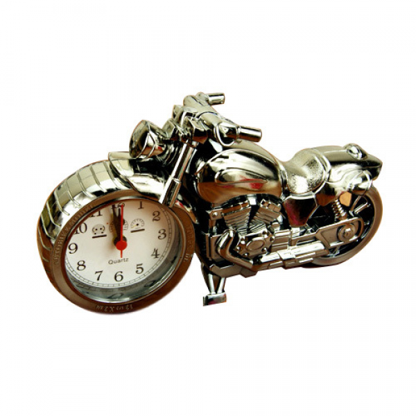 Big Motorcycle alarm clock shape creative retro super cool gifts ...