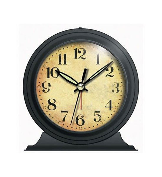 Home > Decor > Home Decor > Clocks > Old-Fashioned Alarm Clock - Black