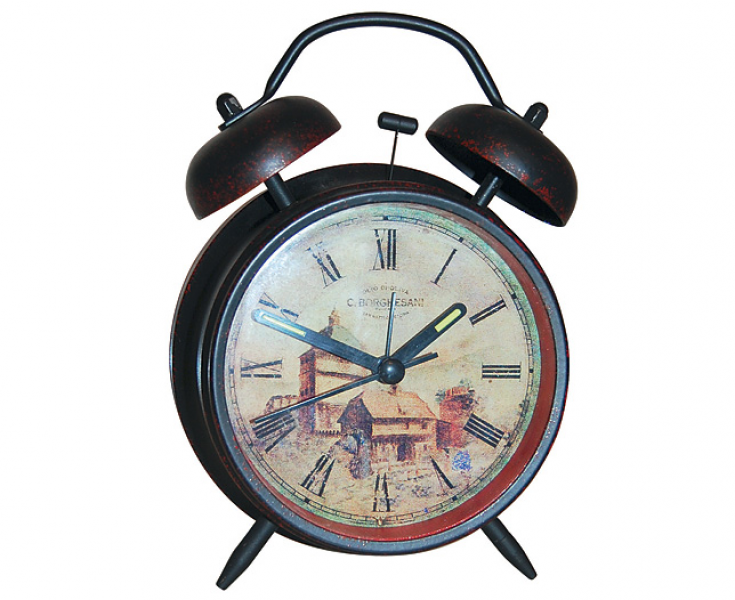 Old-Fashioned Alarm Clock with Light | Scotts of Stow